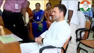 Congress President Rahul Gandhi files nomination from Wayanad, Kerala