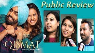 Qismat | Public Review | Ammy Virk | Sargun Mehta | Dainik Savera