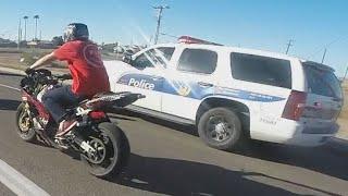 Bike Stunts | Creating Nonsense On Road | Turns To Police Checking | Matter of Shame