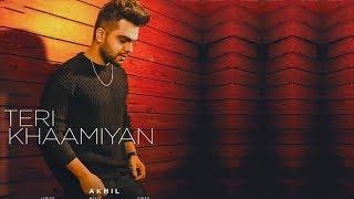 Teri Khaamiyan | new song | Akhil | Jaani | B Praak | Dainik Savera