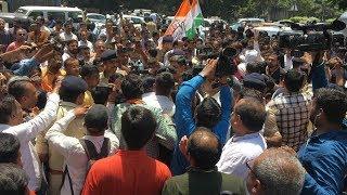 સુરતમાં BJP અને કોંગ્રેસના કાર્યકર્તાઓ વચ્ચે છૂટા હાથની મારામારી