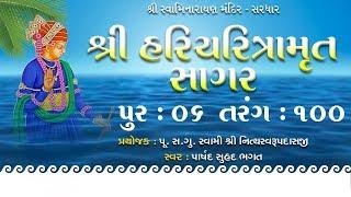 Haricharitramrut Sagar Katha Audio Book Pur 6 Tarang 100