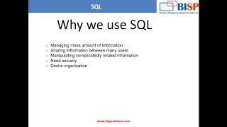 Oracle Fundamentals and SQL - An Introduction