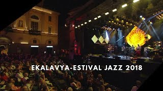 Clouded Nine- Ekalavya- Estival Jazz Lugano 2018-Abhijith P S Nair,Sandeep Mohan,Mohini Dey,