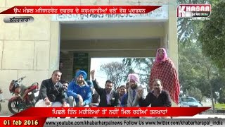 Lehragaga : Protest By Officeial Staff SDM Office