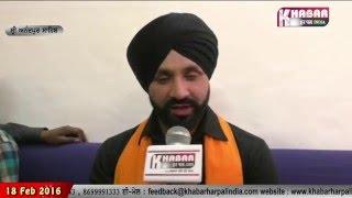 """Sukhjinder Shindas Song  Khalsa Pargat Khande Di Dhar chon"""" Shoot In Anadpur Sahib"""