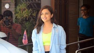 Parineeti Chopra Spotted At Khar Gymkhana Watch Video