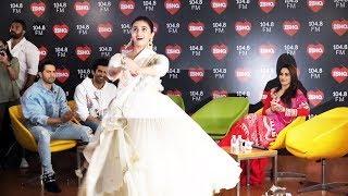 Ghar More Pardesiya LIVE Dance | Alia Bhatt | Kalank Promotion