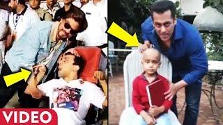 Shahrukh Khan Vs Salman Khan SWEET Gesture Towards Special Fans Will Melt Your Heart