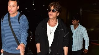 King Is Back! Shahrukh Khan Returns From London After Honored With Doctorate Degree | Mumbai Airport