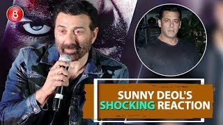 Sunny Deol's SHOCKING Reaction On Working With Salman Khan & Shah Rukh Khan