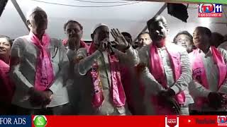 TRS MINISTER MAHMOOD ALI ELECTION CAMPAIGN AT ZAHEERABAD FOR TRS MP CANDIDATES