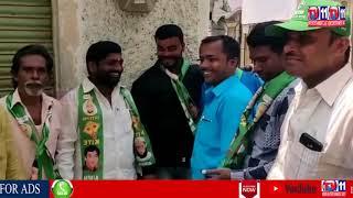 AIMIM KARWAN MLA KOUSAR MOHIUDDIN ELECTION CAMPAIGN FOR MP CANDIDATE ASADUDDIN OWAISI IN KARWAN
