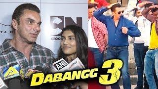Sohail Khan And Niece Alizehs Reaction On Dabangg 3 Excitement | Salman Khan