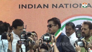 LIVE- Briefing by KC Venugopal, Shatrughan Sinha, Randeep Surjewala and Shaktisinh Gohil at AICC HQ