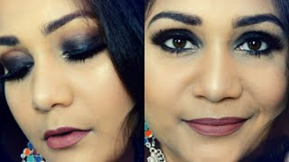 Easy Black Smokey Eyes for Beginners | Nidhi Katiyar