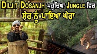 Diljit Dosanjh  ਨੂੰ Jungle  ਚ ਟੱਕਰਿਆ Tiger l Dainik Savera