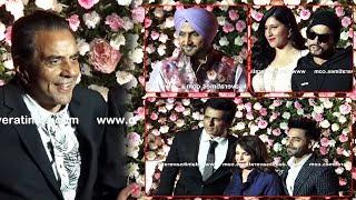 Mumbai Live: Kapil & Ginni Reception | Dharmendra | Rekha | Sonu Sood | Harbhajan Singh | Bohemia |