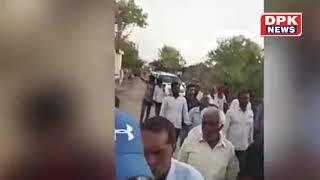 Rajyavardhan Singh Rathore ने काटी फसल - घोड़ी पर बैठ किया रोड़ शो