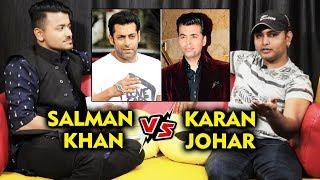 Salman Khan UNLUCKY Vs Karan Johar LUCKY For New Comers   Salman's Biggest Fan Anil Shah BEST REPLY