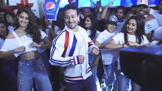 Tiger Shroff And Disha Patani Dancing On Har Ghoont Mein Swag Song | Pepsi's New Anthem
