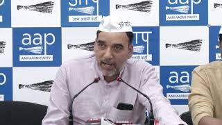AAP Delhi Convenor Gopal Rai Announces Next Phase of Lok Sabha Campaign
