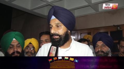 Exclusive Interview Video : Ludhiana से Election लड़ने पर Bikram Majithia से खास बातचीत