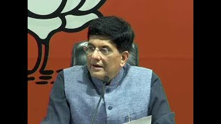 BJP manifesto- Piyush Goyal says NDA govt is most fiscally prudent govt