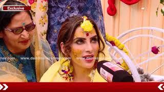 Marriage ਤੋਂ ਪਹਿਲਾ Yuvraj ਤੇ Mansi ਦੀ ਹਲਦੀ ਰਸਮ ਹੋਈ ਅਦਾ | Dainik Savera