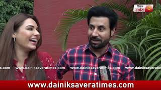 Exclusive : Binnu Dhillon And Mandy Takhar | Band Vaaje | Dainik Savera