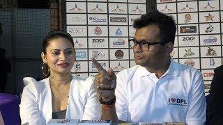 Megha Dhade And Dr Aneel Kashi Murarka At Dreamz Premier League DPL