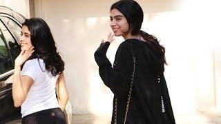 Sister Goals! Janhvi Kapoor And Khushi Kapoor Spotted Outside Gym