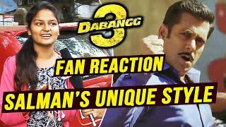 This Girl Is Chulbul Pandeys Biggest Fan   Dabangg 3   Salman Khan