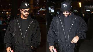 Ranbir Kapoor Spotted At Mumbai Airport Returns From NEWYORK