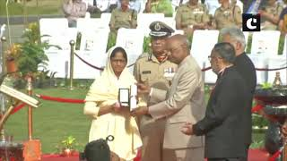 54th CRPF Valour Day- President Kovind pays tribute to CRPF jawans at National Police Memorial