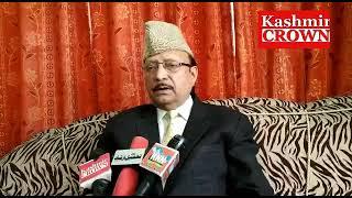 Preas confrence of ab rasheed shaheen chairman jammu and kashmir Awami confrence regarding highway b