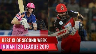 Indian T20 League 2019 | Best XI of the second week | Virat Kohli to open the innings