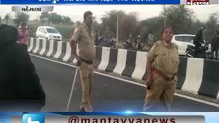 Mehsana: 4 died ,1 injured in accident between Car & Rickshaw   Mantavya News