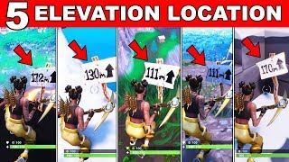 Visit the 5 Highest Elevations on the Island Location - Fortnite Season 8 Week 6 Challenges Guide!