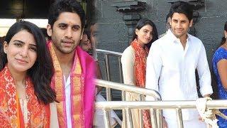 Samantha and Naga Chaitanya visits Tirumula Today | Tollywood Latest News | Daily Poster