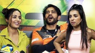 Bigg Boss Ex Contestants At TV BCL Season 4 Photoshoot | Hina Khan, Hiten  Tejwani, Benafsha video - id 371492987e38c1 - Veblr Mobile