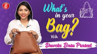 Whats In Your Bag: Shweta Basu Prasad Flaunts Her Most Crazy Possessions