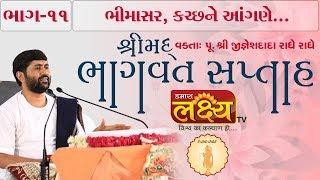શ્રીમદ ભાગવત સપ્તાહ જ્ઞાનયજ્ઞ    Pu.Jigneshdada (Radhe Radhe)    Bhimasar, Kutch    Part-11
