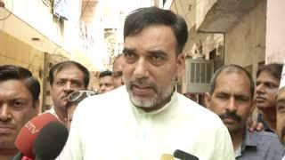 AAP Leader Gopal Rai & LS Candidate Dilip Pandey began Door to Door Campaign in Babarpur(East Delhi)
