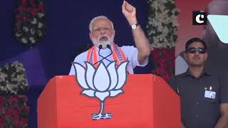 Congress 'filling stomach' of its leaders from money meant for pregnant women- PM Modi