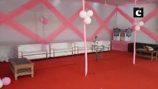 LS polls: Pink booth specially designed for women to cast vote in Bihar's Gaya