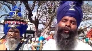 विश्व विख्यात शक्तिपीठ श्री नैना देवी में देखने को मिली होला मोहल्ला मेले की धूम