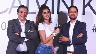 Disha Patani At Calvin Klein Event Flaunts Toned Midriff In Classic Blue Jeans