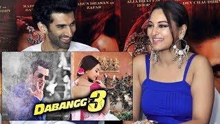 Sonakshi Sinha FIRST REACTION On Dabangg 3 Shooting | Salman Khan