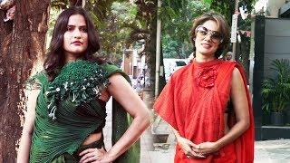 Vidya Malvade & Vaishali.S At Preview For Summer Fusion Collection Of Vaishali